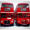 The Beast From The East Vs Vintage Buses = Only One Winner